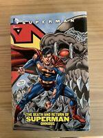 Death And Return Of Superman Omnibus DC Comics