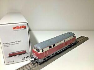 Märklin 39741 (AC) Diesellok V 160 der DB in Ep.III, MFX, SOUND, SPIELEWELT, NEU