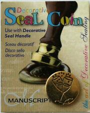 Manuscript Decorative Wax Sealing 18mm Coin Seal - Celebration