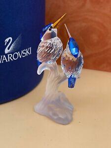 Swarovski Figur 623323 Eisvögel 10,2 cm. - Ovp & Zertifikat - Top Zustand