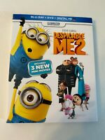 Despicable Me 2 w/ Slipcover (Bluray/DVD, 2013) [BUY 2 GET 1]