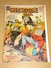 GUNSMOKE TRAIL #1 FN- (5.5) AJAX COMICS JUNE 1957