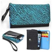 Safari Pattern Protective Wallet Case Clutch Cover for Smart-Phones SFESAMMT-2