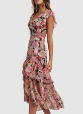 Forever New floral pink dress Size 12