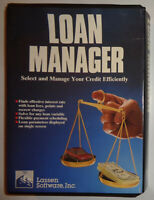 LOAN MANAGER, by Lassen software, Inc., NEW [1989]