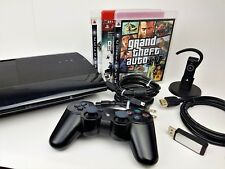 Sony Playstation 3 Super Slim 500GB Console (CECH-4001C) + Headset + Games