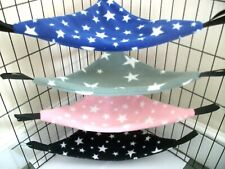 More details for **2 sizes**40 designs* lge* xl*corner hammock rat,guinea pig bed small animal**