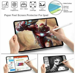 Write Like Paper Feel Screen Protector For Apple iPad Pro 11 12.9/9.7 10.2 Inch