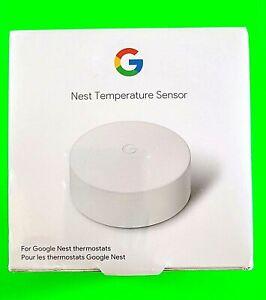 New* Nest Temperature Sensor - Smart Home Thermostat Sensor by Google