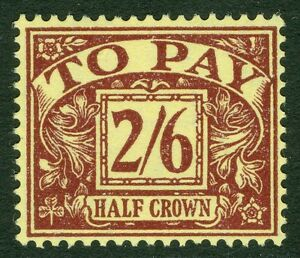 GREAT BRITAIN : 1954. Stanley Gibbons #D45. VF, Mint OG & so LH it appears NH
