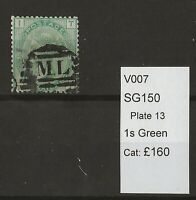 GB Queen Victoria Surface Printed SG150 Plate 13