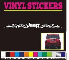 "32"" Jeep Tribal rear window front car truck bumper vinyl sticker decal"