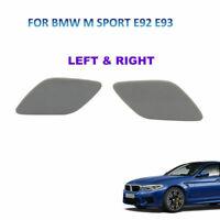 BMW M Sport E92 E93 Paraurti Anteriore Faro Copri Foro Lavafari Destro sinistro