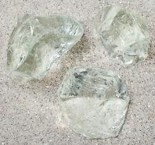Gartendekoration Glasbrocken klar transparent Glass stone  40-120 Glasdeko Außen