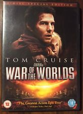 TOM CRUISE. WAR OF THE WORLDS 2 DISC SPECIAL EDITION