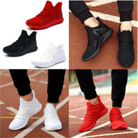 US Men's Running Sport Shoes Breathable Mesh Sneakers Casual Athletic  * ~