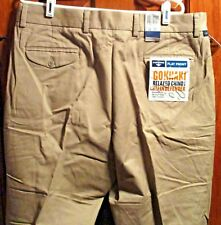 Docker's Men's Relaxed Chino NWT Size 38X30 with Stain Defender