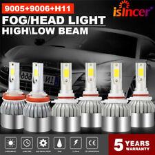 New listing 9005 + H11 + 9006 Combo Led Headlight Fog Light Hi Low Bulb 6000K 5950W 744750Lm