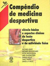 Compêndio de Medicina Desportiva. NUEVO. Nacional URGENTE/Internac. económico. M