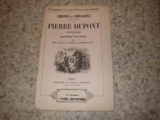 1850.Chant chansons.31e liv.Le noel des paysans.Pierre Dupont