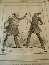 Typo 1882 Le Khédive offrant un cordon à Arabi