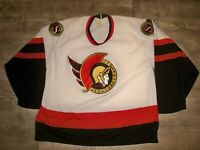 Vintage Maska Ottawa Senators NHL Hockey Stitched Jersey Uniform Size Large