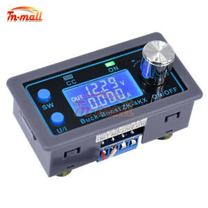 DC 0.5-30V 4A Buck Boost Converter Module CC CV Voltage Regulator LCD Display