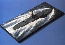 Verlinden 1/35 British X-Craft Midget Submarine sea-borne with Sailor WWII 247