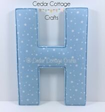 Fabric letters EX LARGE 500mm Wall Art Nursery name, personalised, girl, boy