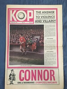 Liverpool FC  -  KOP Newspaper  -   August 30th 1967  -  Issue No 26