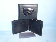 KANSAS STATE WILDCATS  Leather BiFold Wallet  black  cb