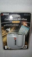 NEW✔ Car Phone Charger WAGAN TECH 2882 Companion (TM) 2 usb + 1 dc outlet