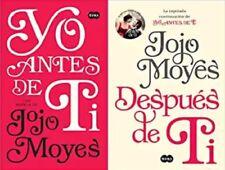 Yo Antes De Ti Y Después De Ti Por Jojo Moyes ( 2 libros )