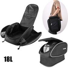 Motorcycle Tail Bag Rear Seat Helmet Bag Motorbike Backpack Extended Luggage Us (Fits: Bourget's Bike Works)
