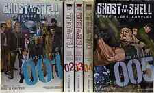 Ghost in the Shell: Stand Alone Complex ( Vol.1-5) ENG manga Graphic Novel NEW