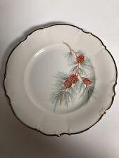 "2- Vintage Hutschenreuther The Pine, 8"" Plates Excellent Condition!"