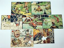 Thriftchi ~ Vintage Harrison Cady Cartoon Puzzles & French Cartoon Puzzle