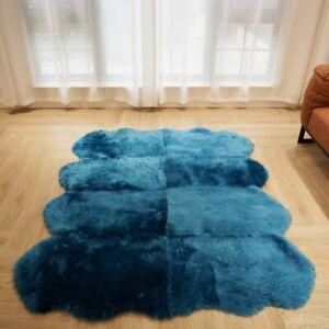 170x140cm 9 colors Australian Sheepskin Rug Sofa Cushion Carpet Natural Fur Pelt