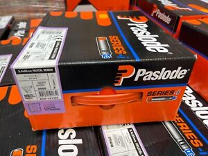 Paslode Series-i 2500 x 3.4x35mm Twist/Helical Screw/PPN Elec-Galv Without Gas