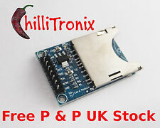 SD Card adaptor reader for Arduino PIC MCU Raspberry Pi UK Stock