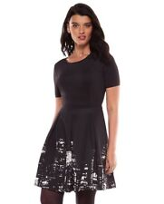 New ELIE TAHARI for DesigNation Size: 4 NYC New Your Skyline Dress. Платье