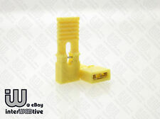 10 pieces of Standard Size 2.54mm Computer Jumper with Long Handle Yellow Color