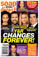 Soap Opera Digest Magazine May 14 2018 Young & the Restless Tuc Watkins