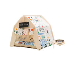Playdo Washable Indoor Outdoor Kennel Dogs House Puppy  Pets Teepee Tent Cushion