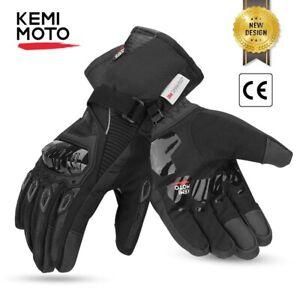 Winter Motorcycle Gloves Touch Screen Motorcross Waterproof Windproof Protective