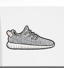 Kanye Yeezy Boost 350 Sneaker Adidas Vinyl Car Bumper Bottle Phone Decal Sticker