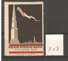 CINDERELLA -S53-  AUSTRIA - WIENER INT, MESSE - 1924