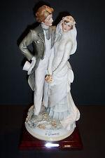Florence Giuseppe Armani BRIDE AND GROOM figurine 1984