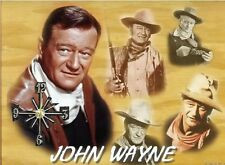 (The Duke) John Wayne Wall Clock  It would make a great  Gift