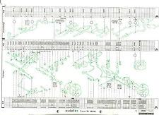 FORD TRANSIT PRITSCHE   (FY ab 2000) Original Audatex Reparaturbogen